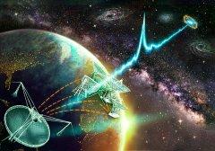 银河系中心传来神秘信号,一年重复13次,会是外星文明吗(银河系有外星生命吗)