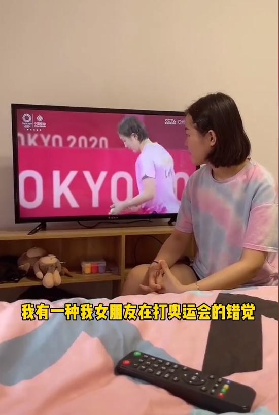 网友撞脸奥运选手陈梦马龙 直呼:本人看了都得愣三秒