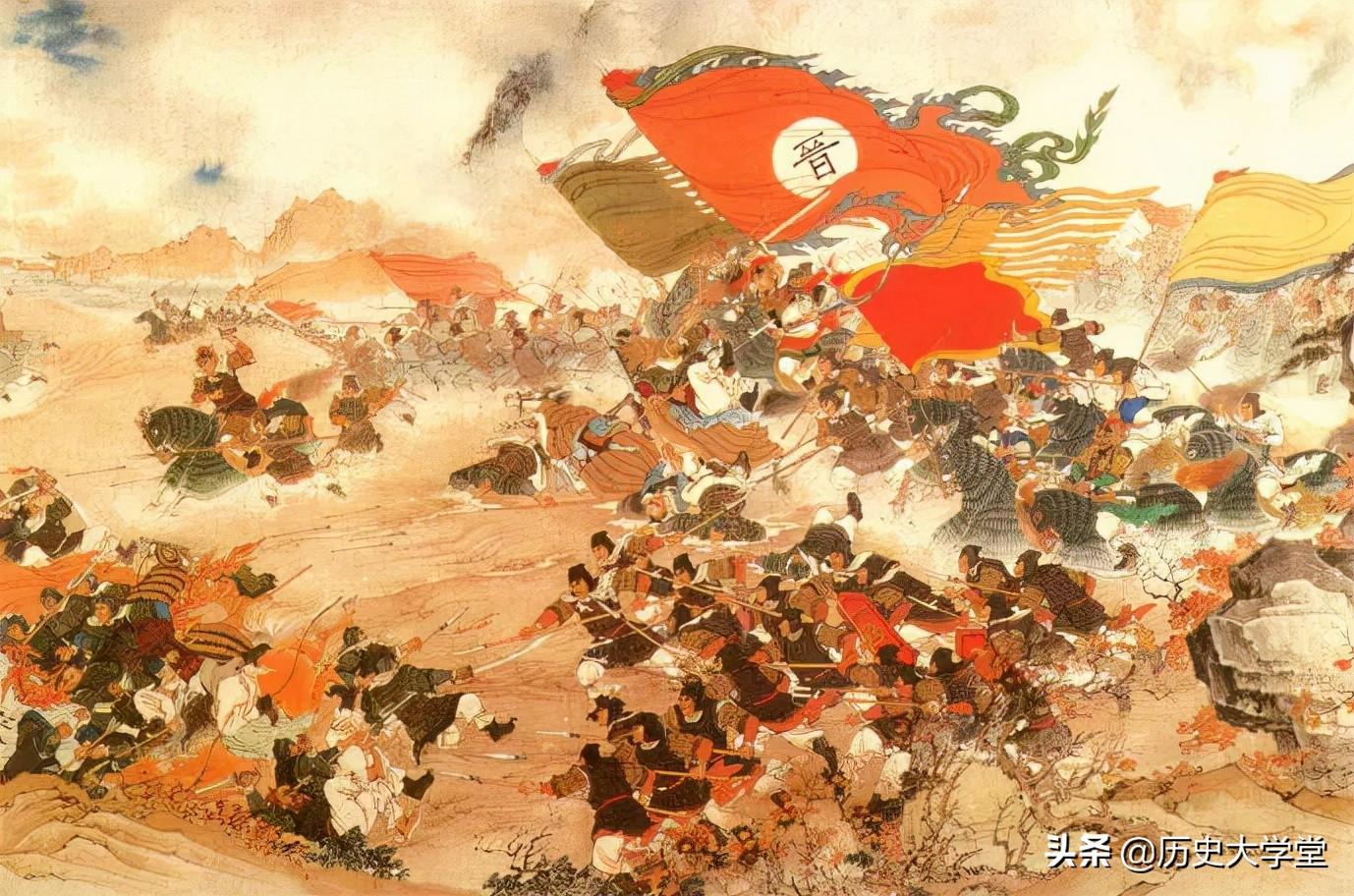 """中国古代史上以少胜多的战役,为什么会""""井喷""""般地出现"""