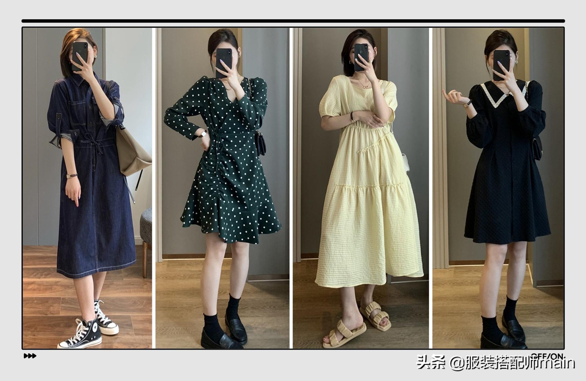 今年早秋必入的5条连衣裙,不挑身材还遮肉,穿上你就是女神
