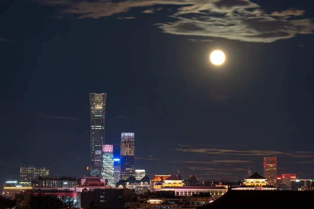 没看着中秋的月亮?高清美图来了