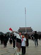 国庆节去天安门广场看升旗仪式是一种什么体验